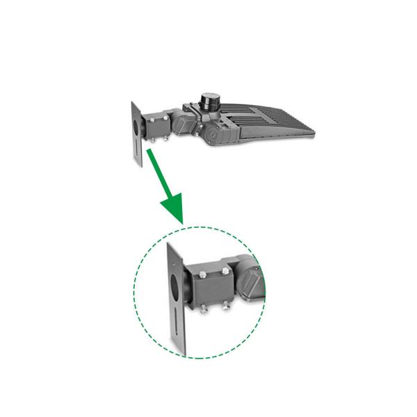 Slip Fitter adaptor for shoebox