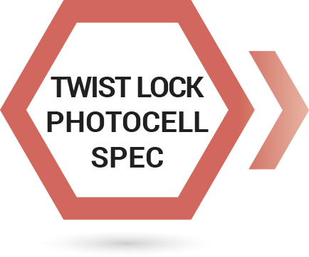 photocell twist to lock